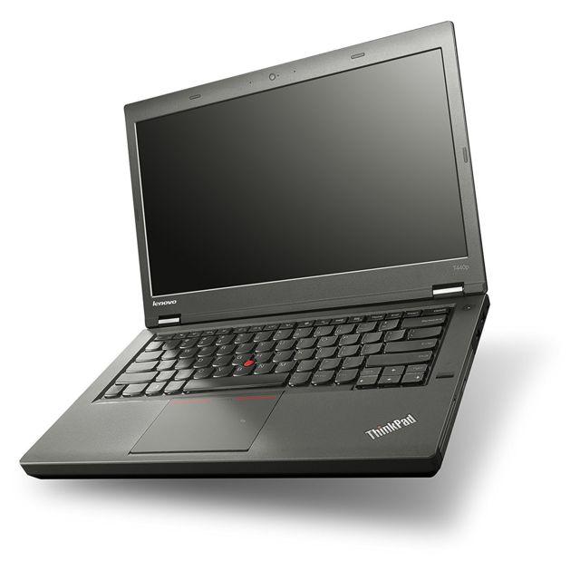 "LENOVO - ThinkPad T440P - Intel Core i5 4300M 2.6 Ghz - RAM 8 Go - SSD 256 Go - DVD-ROM - Ecran 14.1"" LED - Webcam - Intel HD Graphics 4600 - 1600 x 900 pixels - Windows 10 Professionnel 64 bits COA"