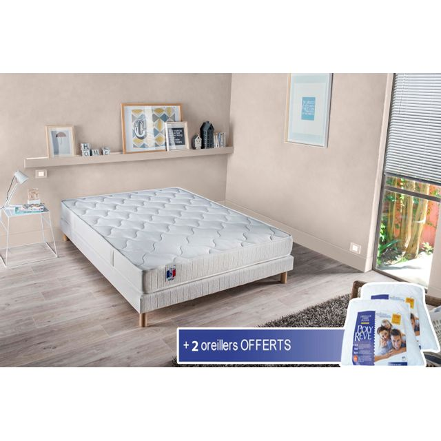latest lovea ensemble matelas latex sommier unique. Black Bedroom Furniture Sets. Home Design Ideas