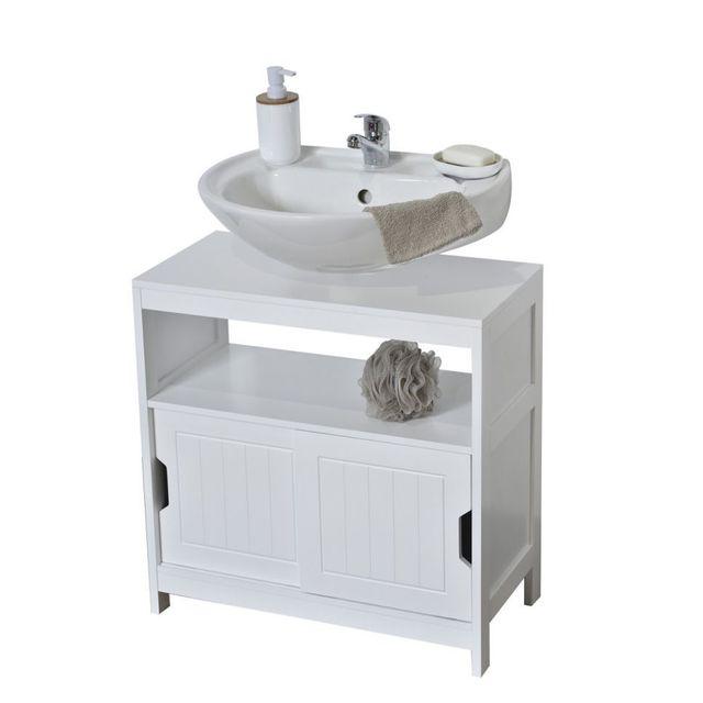 lavabo collectivit occasion tendance meuble sous lavabo portes blanc pas cher achat vente. Black Bedroom Furniture Sets. Home Design Ideas