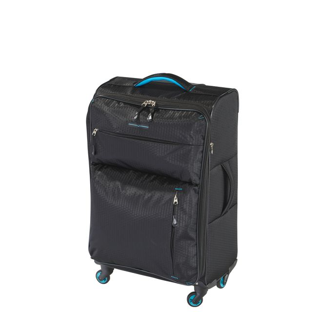 valise carrefour 4 roues Carrefour Ultra Light Valise 4 Roues 68 Cm Noir Impak002