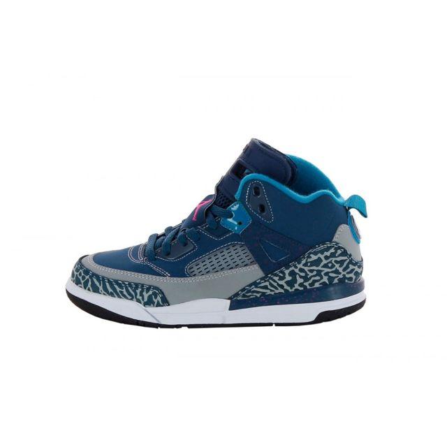 best service c34b6 c6c64 Nike - Basket Jordan Spizike Cadet PS 317700-407 - pas cher Achat   Vente Baskets  enfant - RueDuCommerce