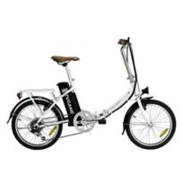 Tucano - Vélo électrique pliable Basic Pro blanc perle