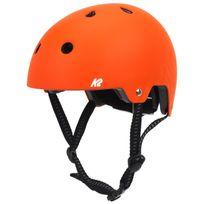 Casque roller skate trotinette Varsity jr org reglable Orange 15058