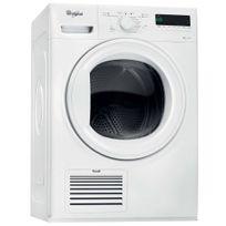 Whirlpool - sèche-linge pompe à chaleur avec condenseur 60cm 9kg a++ blanc - hgelx90410