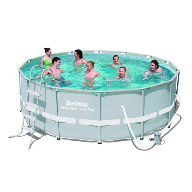 design et prix magnifique kit piscine tubulaire best way powersteel 4 27 x 1 22m pas cher. Black Bedroom Furniture Sets. Home Design Ideas