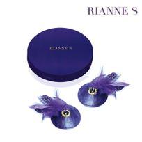 Rianne S - Cache-Seins Birds Violet