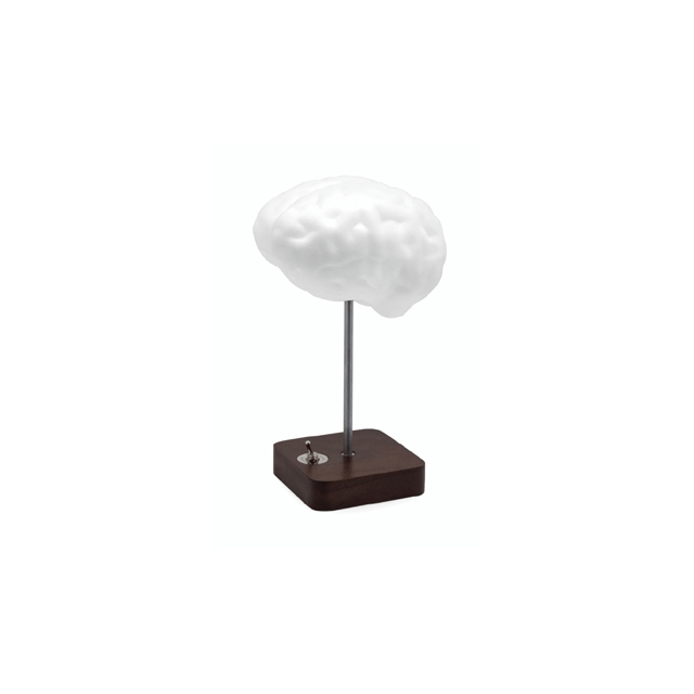 Propaganda Brain Lamp - Lampe à poser Blanc H35cm - Lampe à poser designé par Chaiyut Plypetch