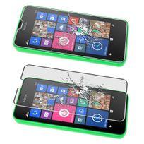Cabling - Film de protection d'écran en verre trempé pour écran Nokia Lumia 635 / Lumia 630 Protecteur optimal et ultra dur