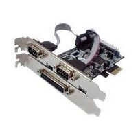 Longshine - Lcs-6322M - Adapter Parallel/Seriell - Pcie - parallel, Seriell - 3 Anschlüsse