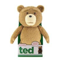 Commonwealth - Peluche - Ted peluche parlante Rated 40 cm ANGLAIS