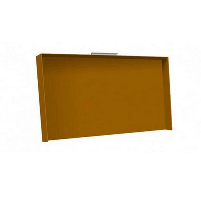 SIMOGAS couvercle acier orange pour plancha - cv-rainbow orange
