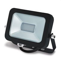 FOREVER LIGHT - Projecteur LED PRO 10W boitier noir Température de Couleur Blanc froid 6000K