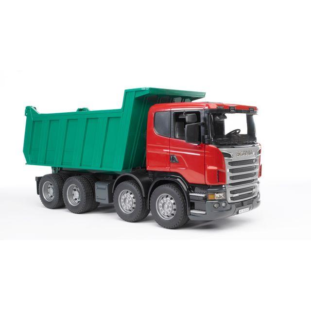 BRUDER Camion benne SCANIA R-serie - 3550