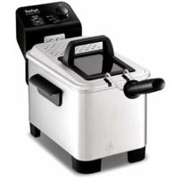 Tefal - fr3330 - Friteuse easy pro 3l Solo, acier inoxydable, stand-alone, vernis, rotatif