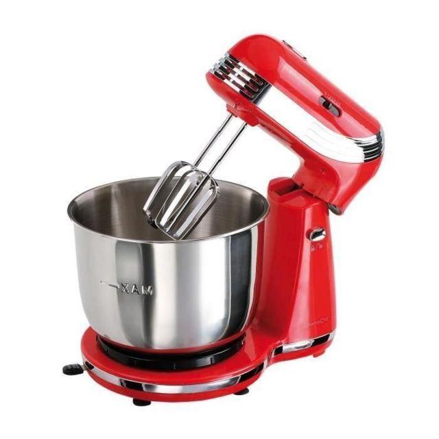 DOMOCLIP Robot pâtissier multifonction rouge DOP137R