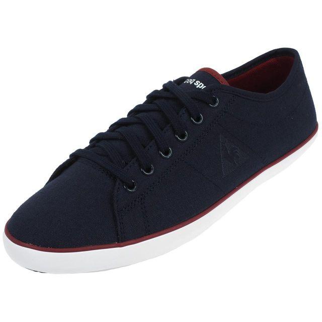 6cb307ecc553 Le Coq Sportif - Chaussures basses toile Le coq sportif Slimset cvs bleu  Bleu 39261