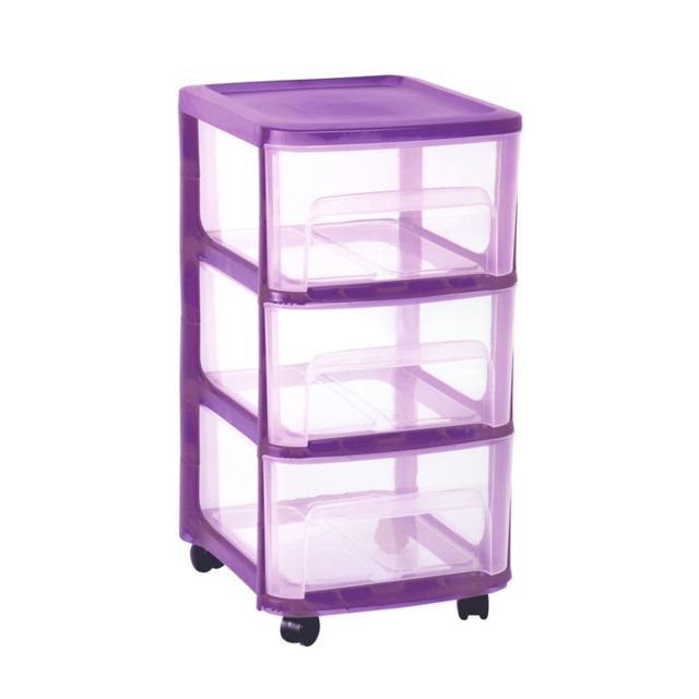 eda plastiques tour de rangement module a4 3 tiroirs. Black Bedroom Furniture Sets. Home Design Ideas