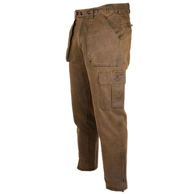free delivery arriving buy Somlys - Pantalon de chasse chaud façon cuir vieilli 566 ...