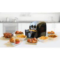 Bestron - Friteuse à air chaud - PrepAir - Noir - Minuterie - Recettes - Pour frites, poulet, viande, poisson, légumes, cupcakes