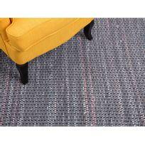 Beliani - Tapis rectangulaire en coton - dans les tons gris - 140x200 cm - bariolé - Besni