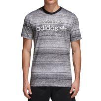 381d5dad863 Adidas originals - Traction Trefoi Homme Tee-Shirt Gris Adidas Gris M