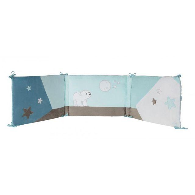 marque generique tour de lit flocon l 39 ourson pas cher achat vente tours de lit rueducommerce. Black Bedroom Furniture Sets. Home Design Ideas