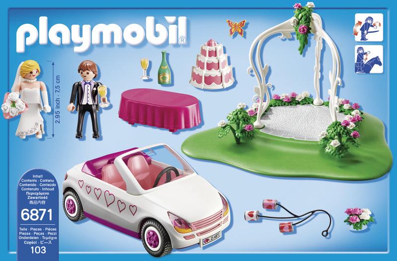 Starter Set Couple de mariés avec voiture - 6871