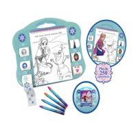 Lansay - Carnet d'activités Disney : La Reine Des Neiges Frozen