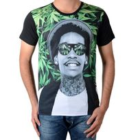Celebry Tees - Tee Shirt Rap Green Noir