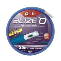 Dipra - Tube multicouche gainé eau froide - Bleu Couronne 50m - D.20mm