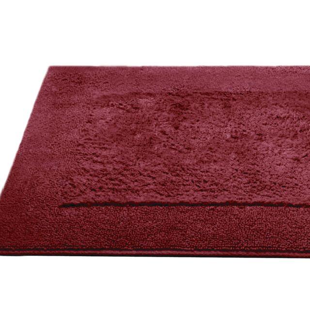 linnea tapis de bain 70x120 cm dream bordeaux 2000 g m2 multicolore pas cher achat vente. Black Bedroom Furniture Sets. Home Design Ideas