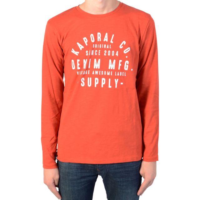 7968580f42e1f Kaporal 5 - Tee-Shirt Manche Longue Kaporal Enfant Mider - pas cher ...