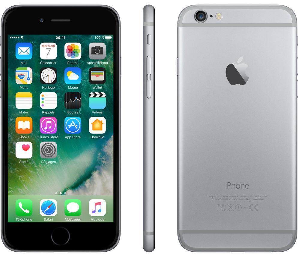 iPhone 6 - 16 Go - Gris Sidéral - Reconditionné