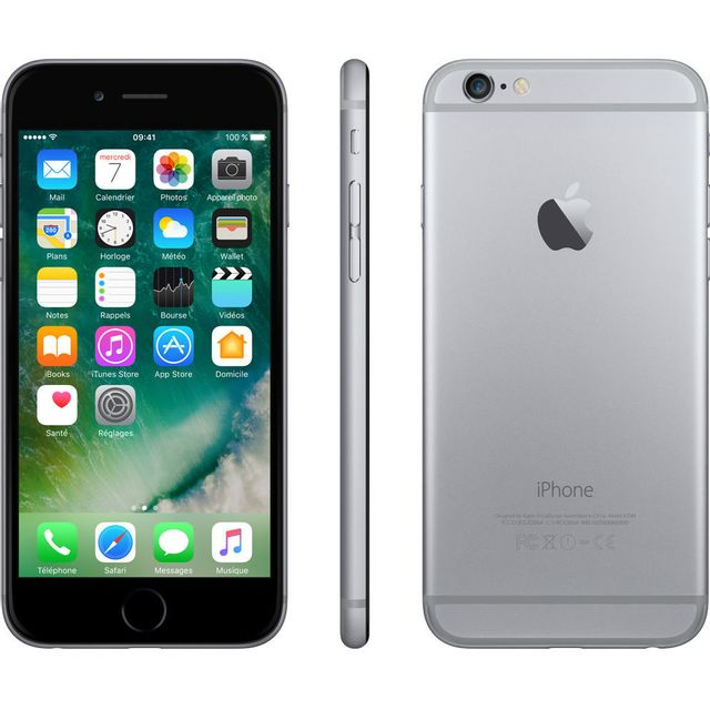 APPLE - iPhone 6 - 128 Go - Gris Sidéral - Reconditionné