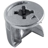 Permo - Piece D'ASSEMBLAGE Excentrique Diametre 15 Mm - Pour Panneau De 19 Mm - Finition:Brut - Cond.:100