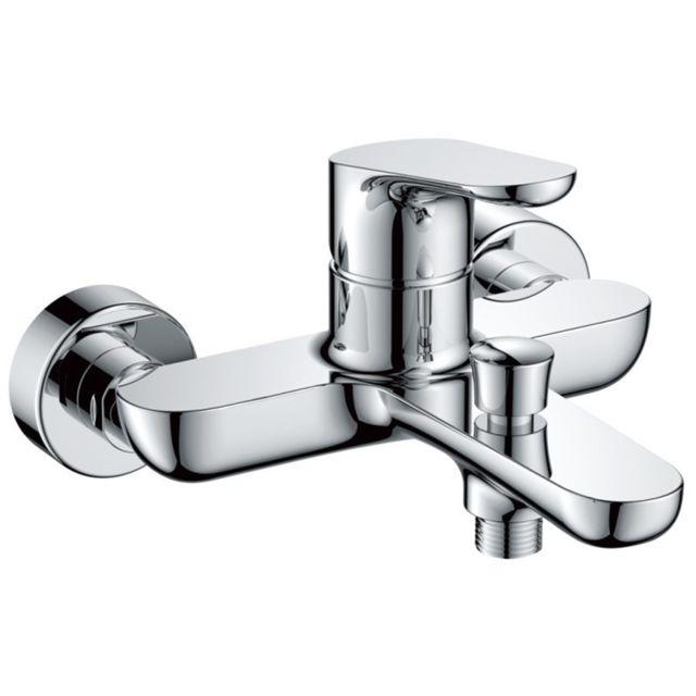 560c71bd04c617 Aqua Occaz - Robinet mitigeur pour baignoire et douchette style moderne  classique