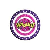 "The Concept Factory - Tapis rond Ø60cm Bd ""Waouh"