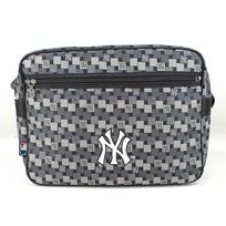 New York Yankees - Sac reporter horizontal imprimé Ny Yankees Gris