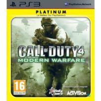 Activision - Call of Duty 4 : Modern Warfare - Platinum