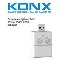 Konx - Sonnette 433Mhz pour portier vidéo version 2016