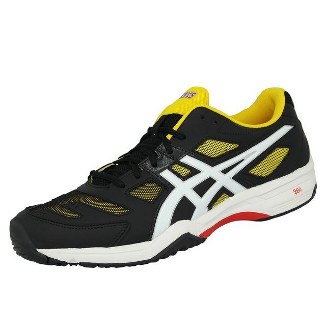Asics 2 Slam Noir Jaune Solution Homme De Gel Tennis Chaussures 6S6vqxTwHF
