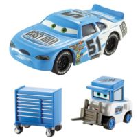 "Mattel - Cars - Cars Ruby ""Easy"" Oaks et Easy Idle Pitty"