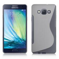 Vcomp - Housse Etui Coque souple silicone gel motif S-line pour Samsung Galaxy A3 Sm-a300F A300FU/ A3 Duos Sm-a300F/DS A300G/DS A300H/DS A300M/DS non compatible Galaxy A3 2016 - Transparent