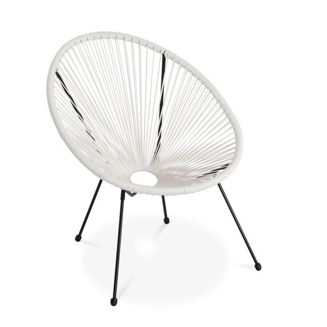 ALICE'S 2 d'oeuf forme GARDEN Lot de fauteuils ACAPULCO 8n0wOPk