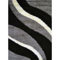 Nazar - Torino Tapis De Salon Shaggy 120x170 Cm Gris