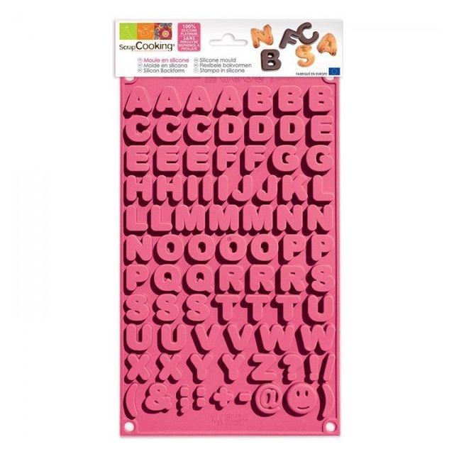 Scrapcooking Moule à chocolats - Alphabet
