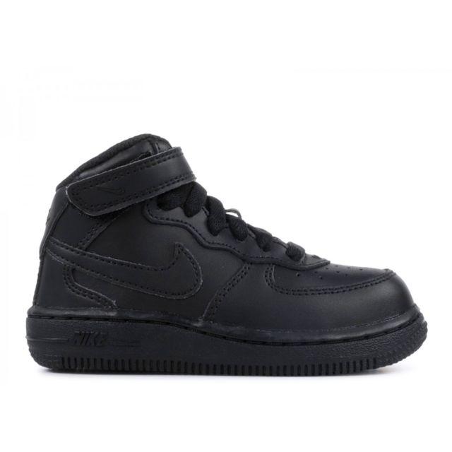 ebe9368f53f52 Nike - Basket mode Air Force 1 Mid 314197004 - pas cher Achat   Vente  Baskets enfant - RueDuCommerce