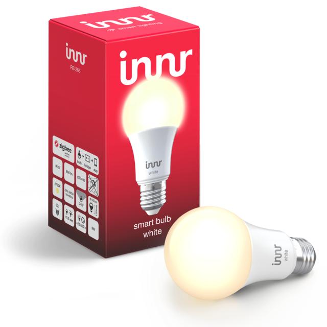 INNR - Ampoule connectée E27 - ZigBee 3.0 - Blanc chaud