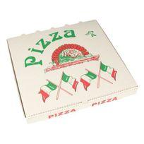 """Papstar - Boîtes à Pizza en cellulose """"pure"""" rectangulaire 30 cm x 30 cm x 3 cm - 15196"""