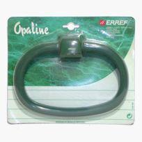 Erref - Anneau Porte-serviettes Plastique vert Opaline